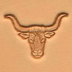 Longhorn Craftool 3-D Stamp - Maine-Line Leather