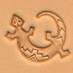 Lizard Craftool 3-D Stamp - Maine-Line Leather