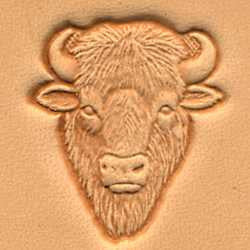 Buffalo Head Craftool 3-D Stamp