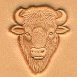 Buffalo Head Craftool 3-D Stamp - Maine-Line Leather