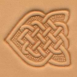 Knotted-Arrow Craftool 3-D Stamp - Maine-Line Leather