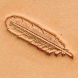 Feather Craftool 3-D Stamp - Maine-Line Leather