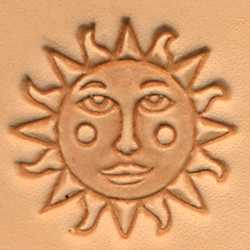 Sun Face Craftool 3-D Stamp - Maine-Line Leather