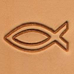 Fish Craftool 2-D Stamp - Maine-Line Leather
