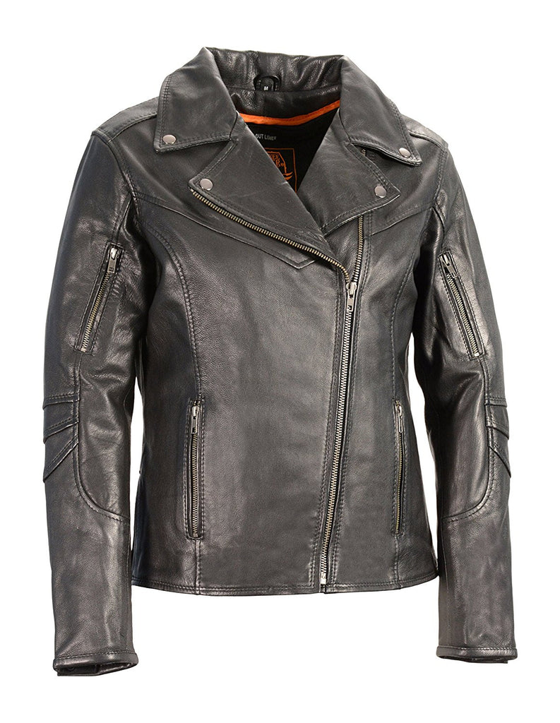 Milwaukee Leather Women's Vented Motorcycle Jacket