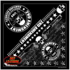 Hot Leathers 2nd Amendment Bandana