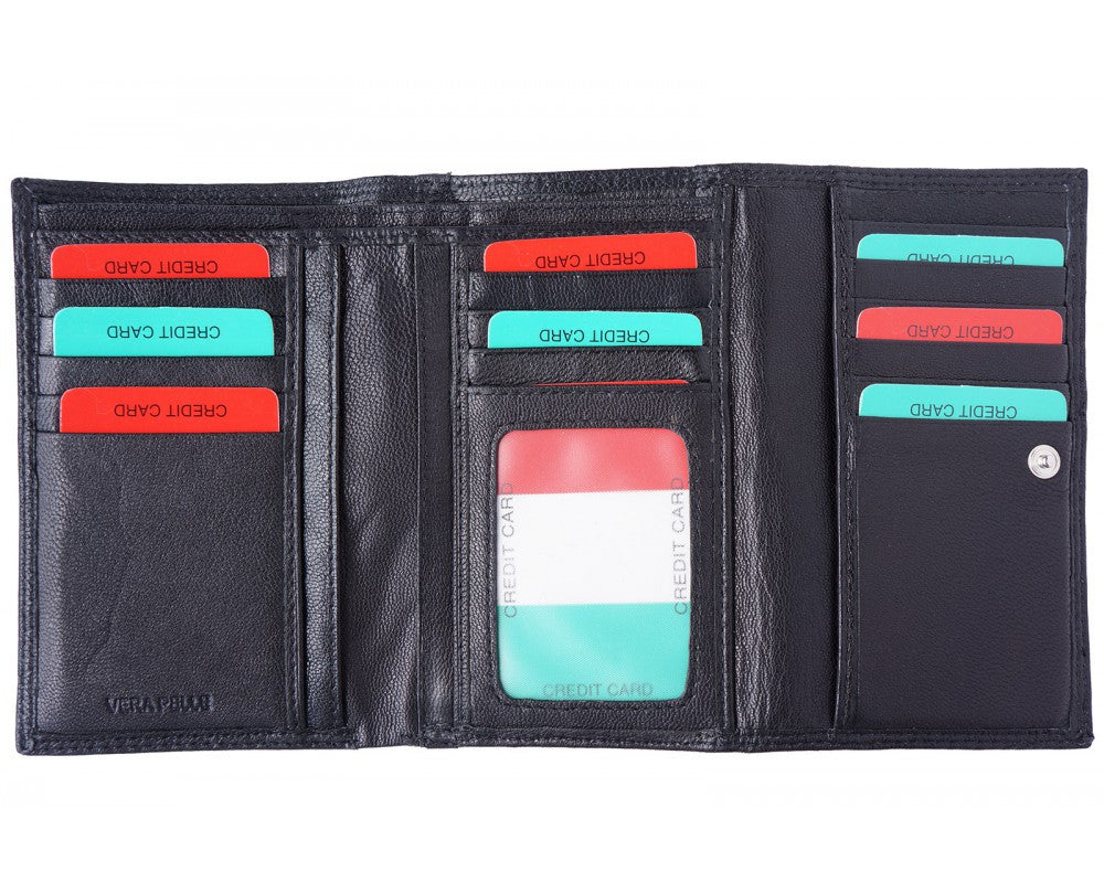 Leather Wallet for Woman - Maine-Line Leather - 1