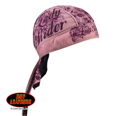 Lady Rider Floral Head Wrap