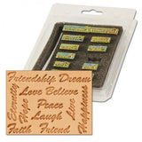 Inspirational Word Stamp Set - Maine-Line Leather