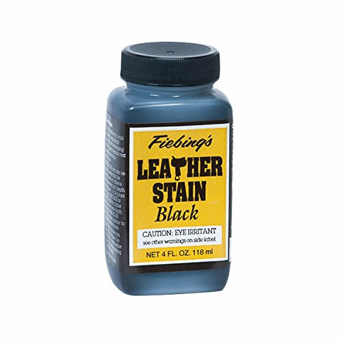 Fiebing's Leather Stain 4 oz 4 Colors
