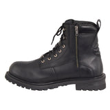 Milwaukee Leather Men's 6 Inch Waterproof Lace to Toe Boot w/ Steel Toe