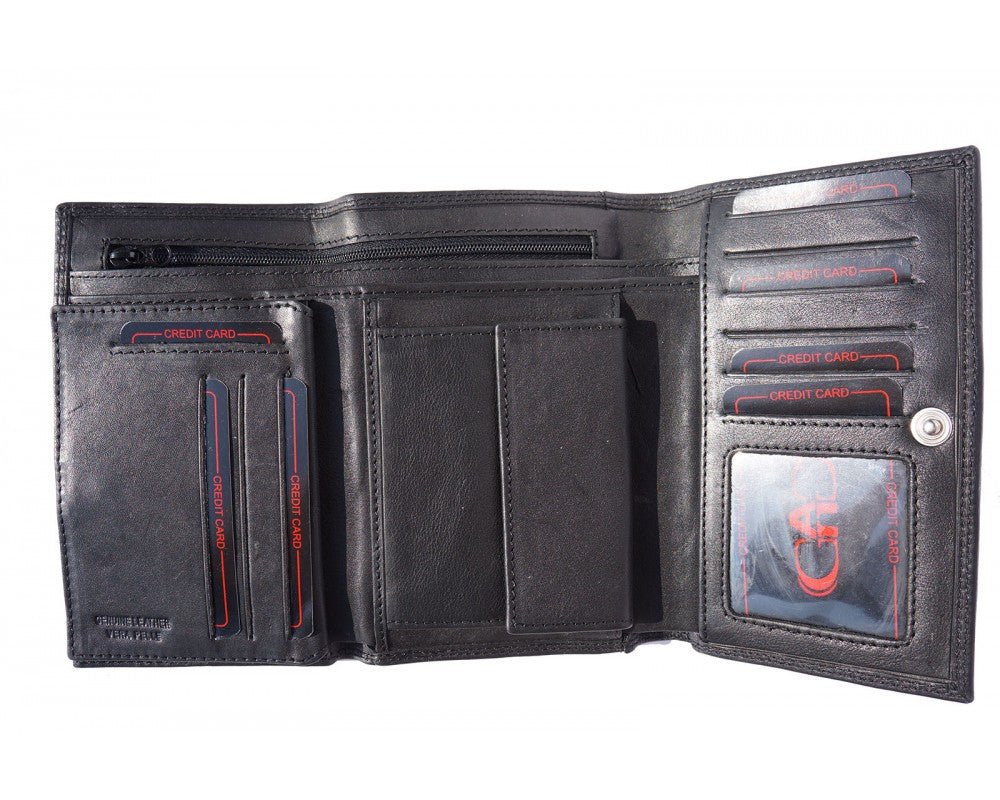 Leather Wallet For Woman Multi Colors