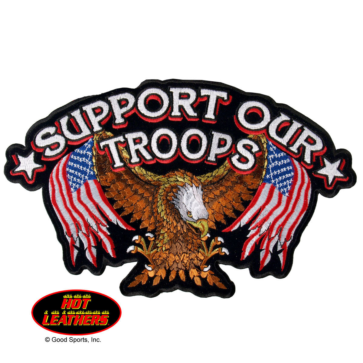 Support Our Troops - Maine-Line Leather