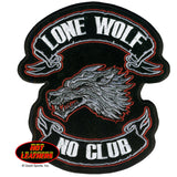 Lone Wolf No Club - Maine-Line Leather