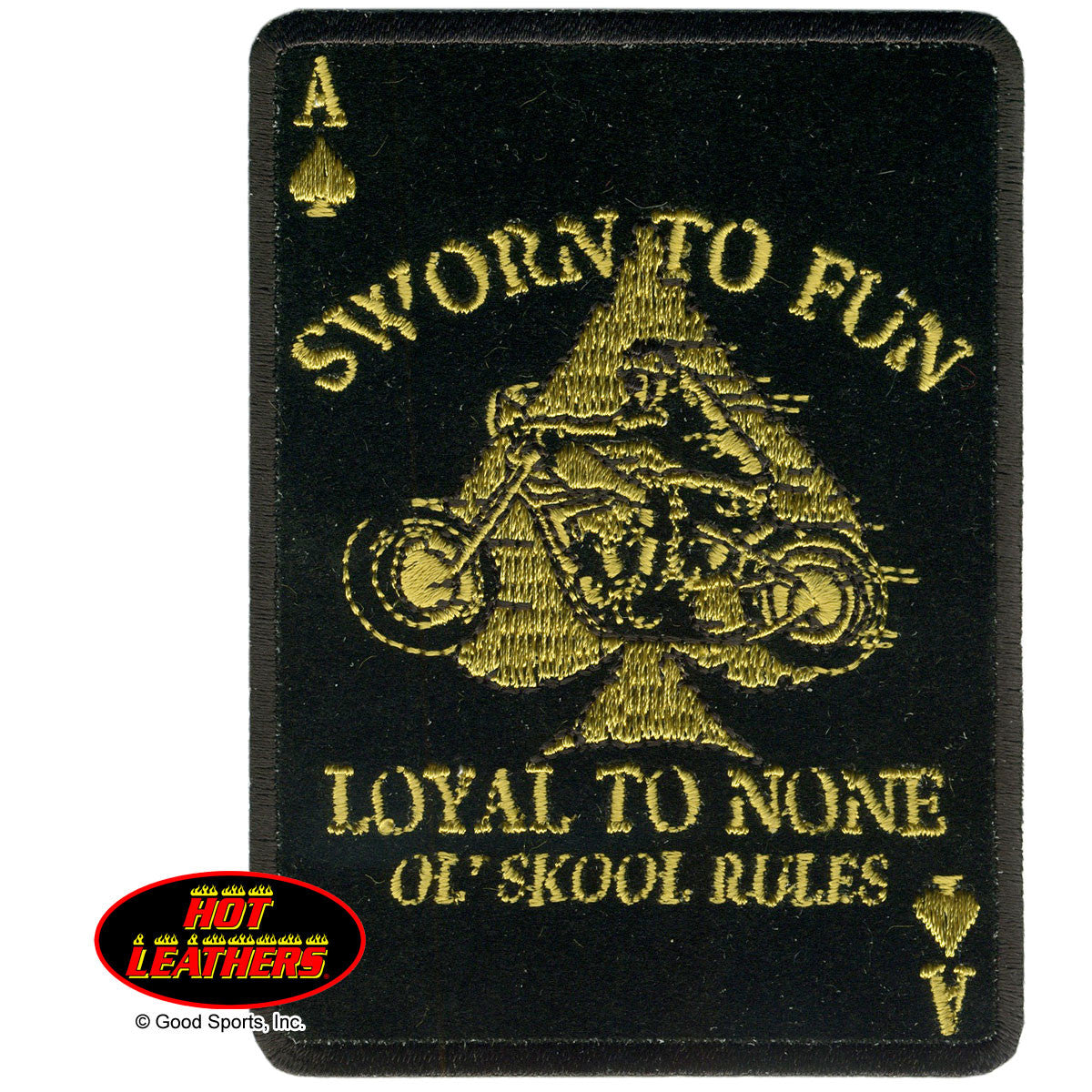 Loyal To None Patch - Maine-Line Leather