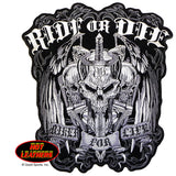 Ride or Die Biker for Life - Maine-Line Leather
