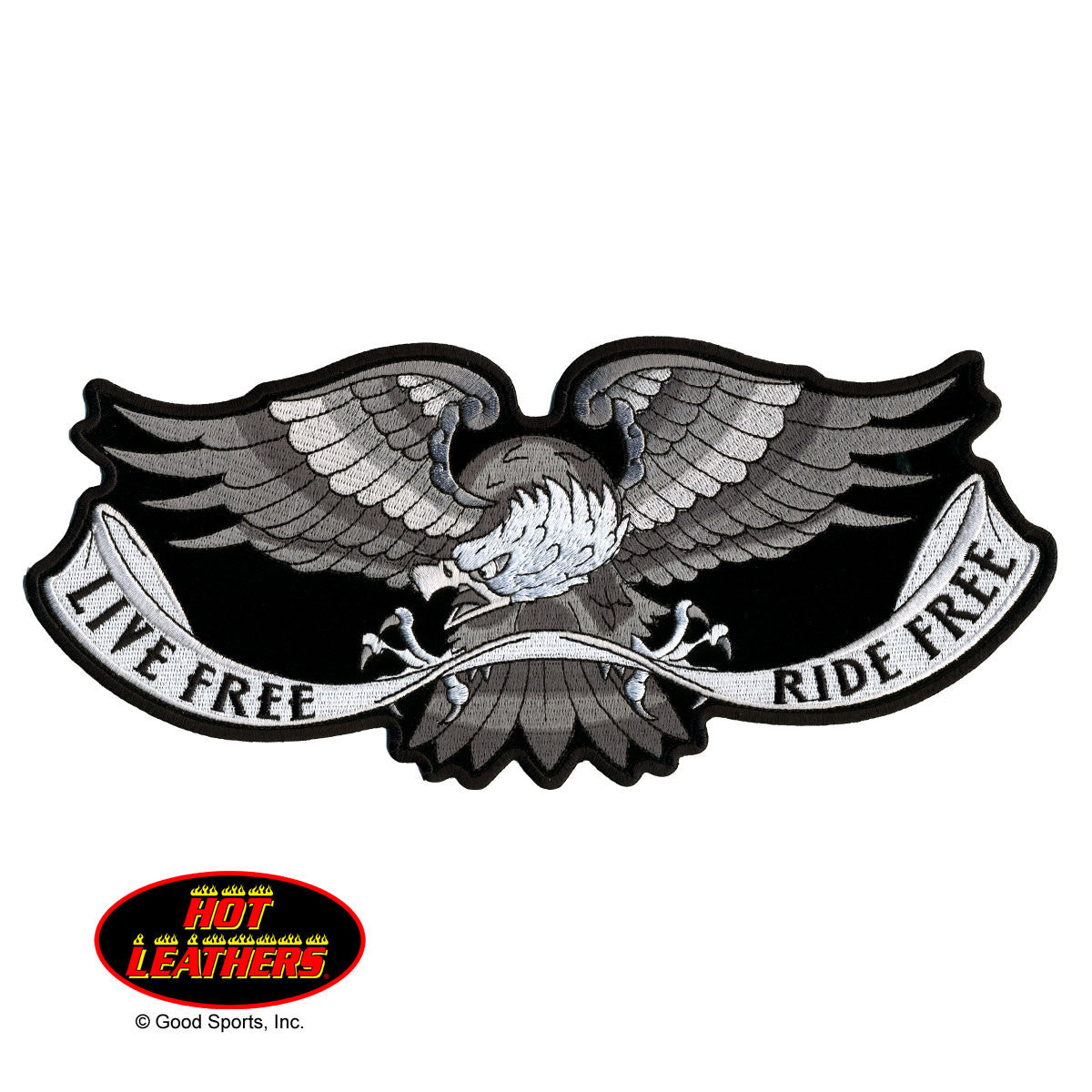 Live Free Eagle - Maine-Line Leather