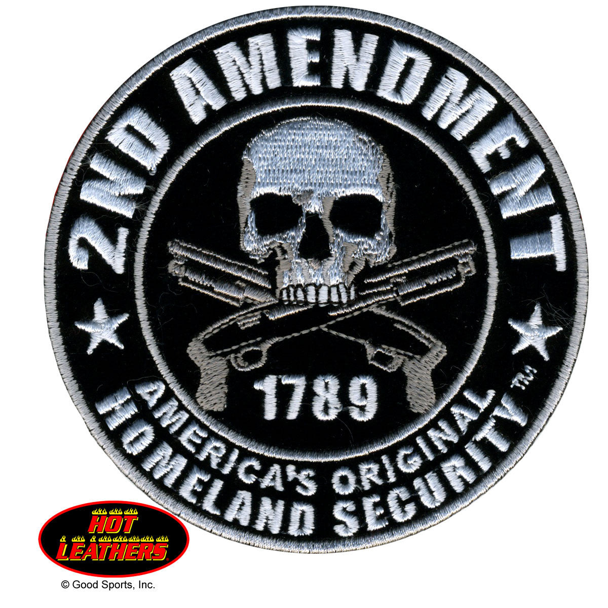 2nd Amendment Homeland Security - Maine-Line Leather