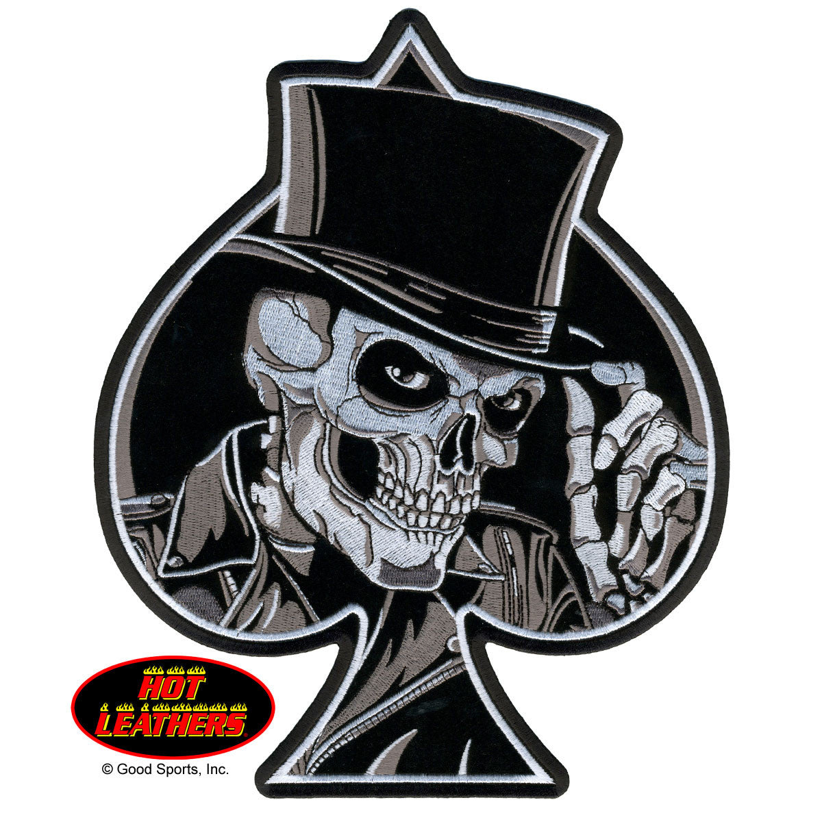 Top Hat Skull - Maine-Line Leather