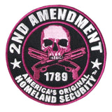 Purple 2nd Amendment America's Original Homeland Security - Maine-Line Leather
