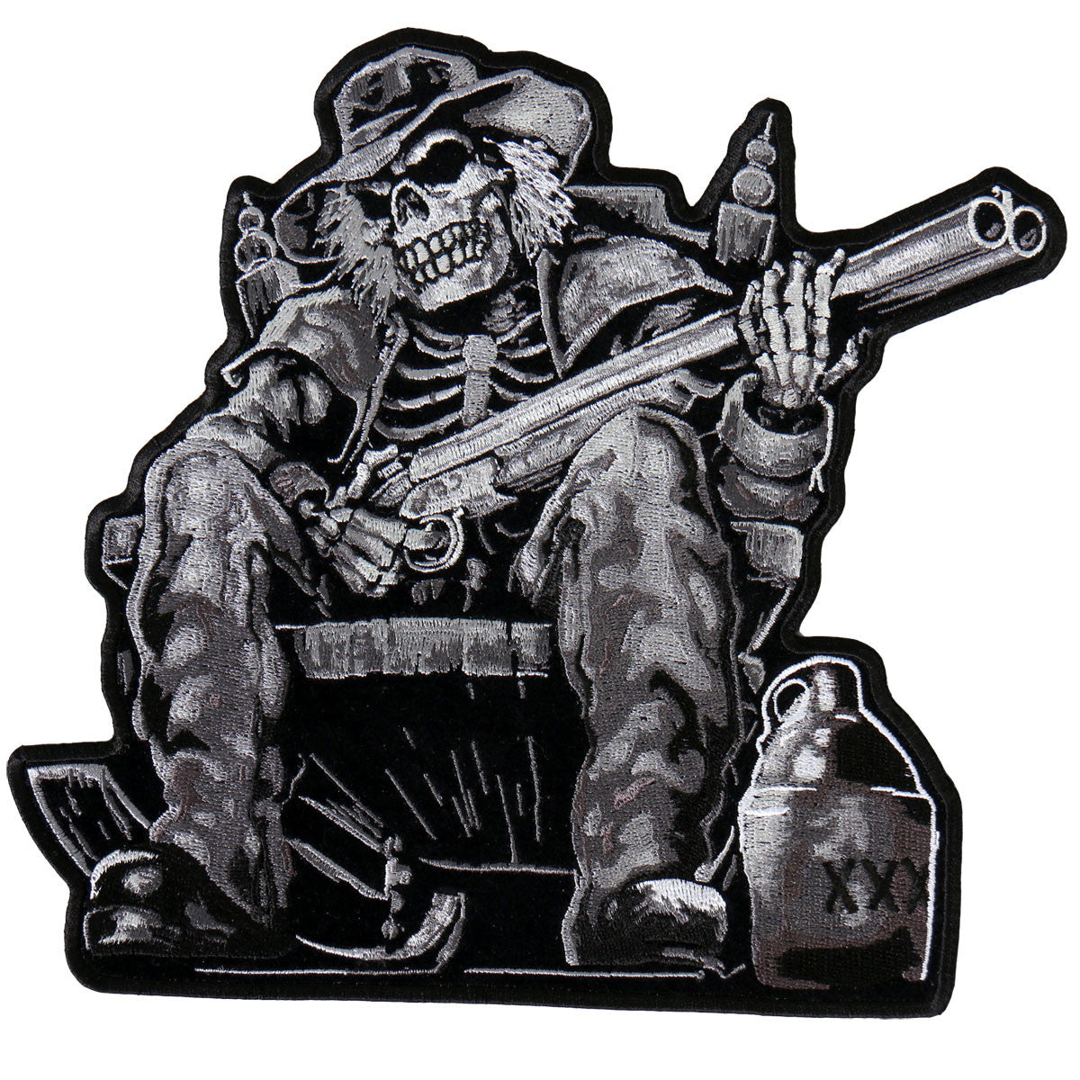 Moonshine Skeleton - Maine-Line Leather