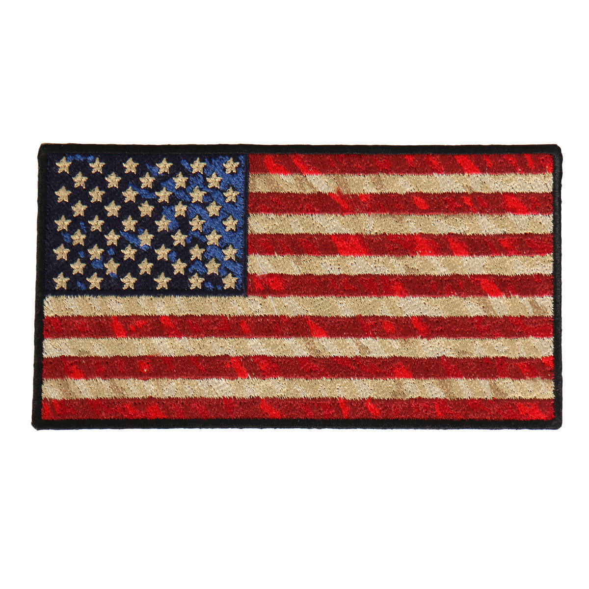 Distressed American Flag - Maine-Line Leather