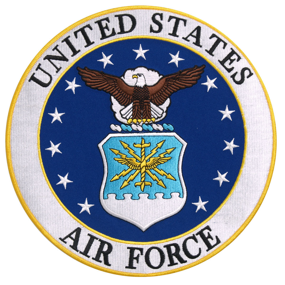 US Air Force Logo Military - Maine-Line Leather