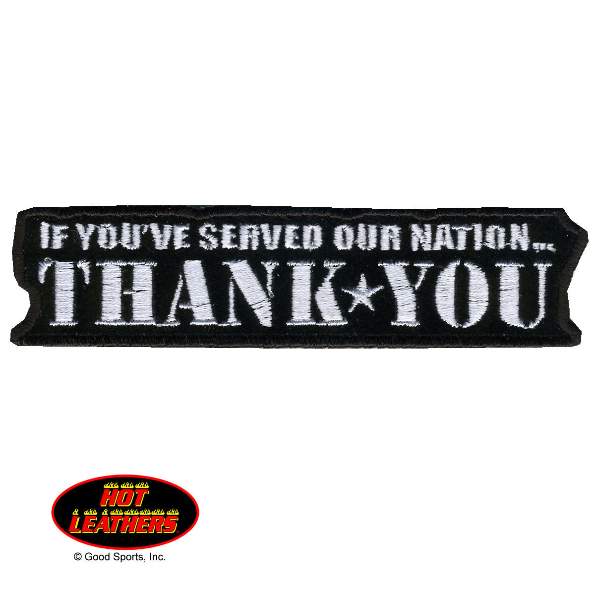 If You Served...Thank You - Maine-Line Leather