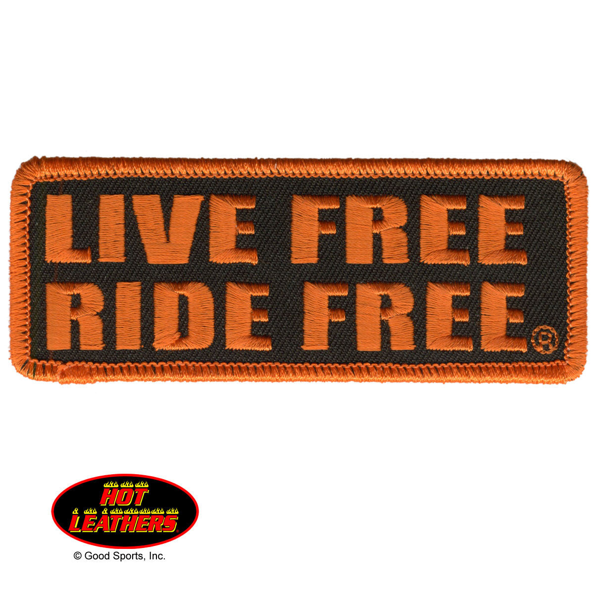 Live Free Ride Free - Maine-Line Leather