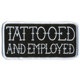 Tattooed and Employed - Maine-Line Leather