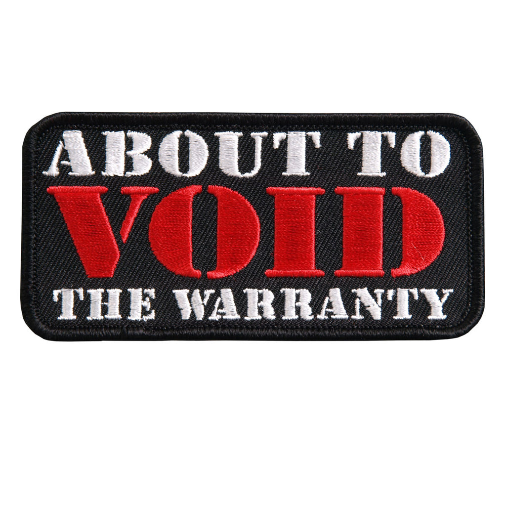 About to Void Warranty