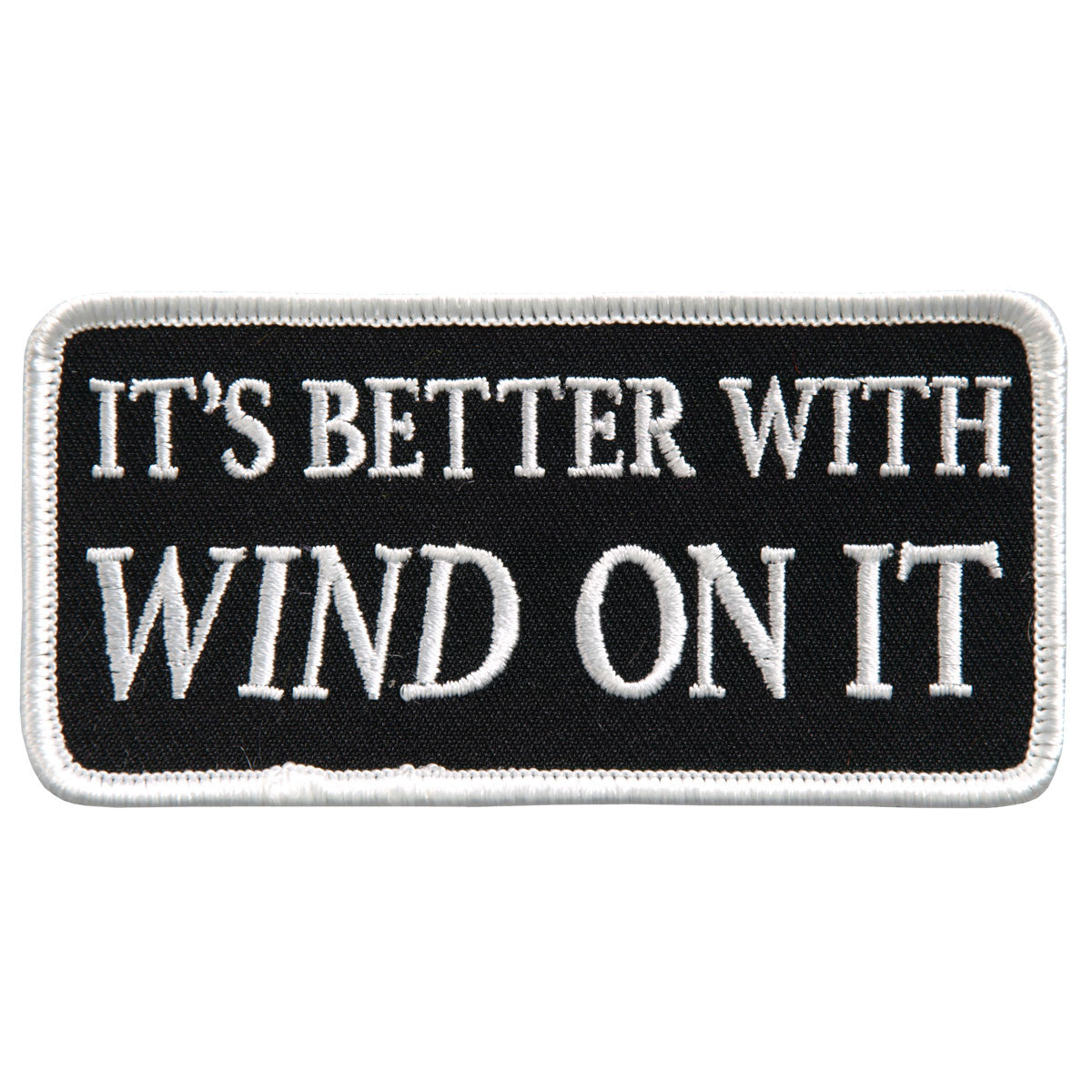 Its Better With Wind On It - Maine-Line Leather