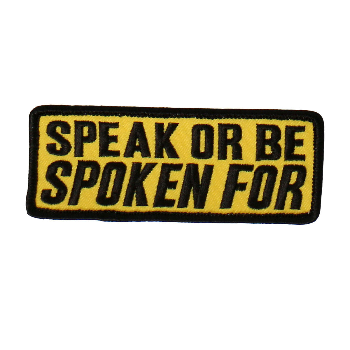 Speak or Be Spoken For - Maine-Line Leather