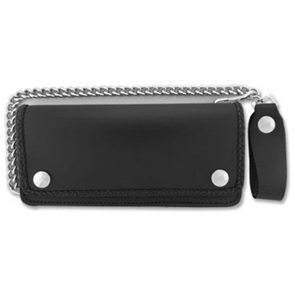 5 Pocket Bi-fold Wallet w/Braided Detail