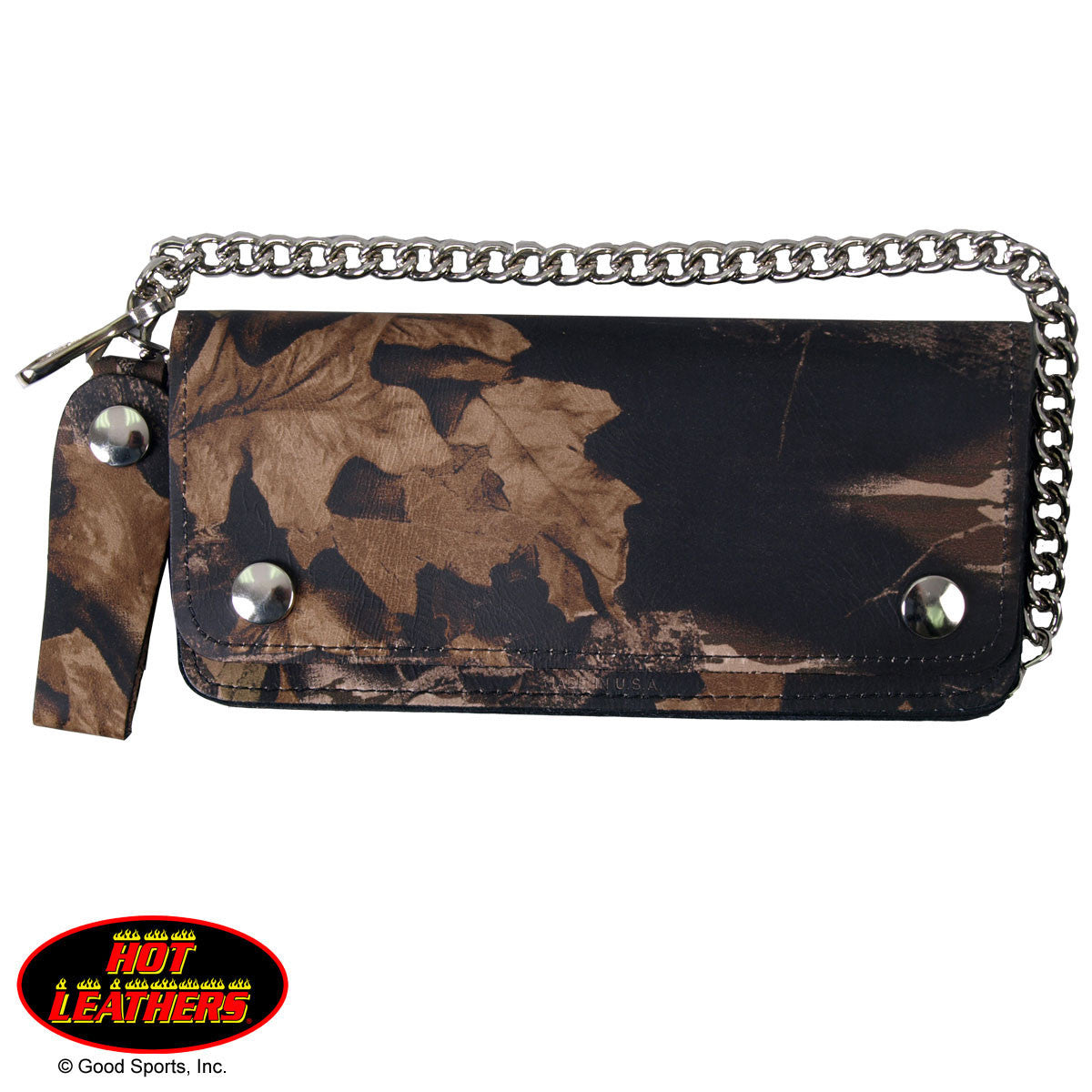 Hunting Camo Wallet - Maine-Line Leather