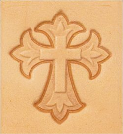 Craftool 3-D Stamp Cross - Maine-Line Leather