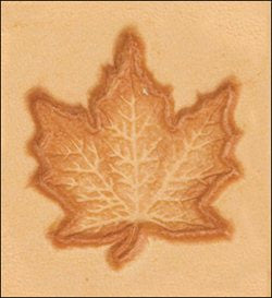 Craftool 3-D Stamp Maple Leaf - Maine-Line Leather