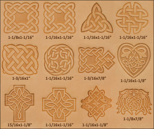 Craftool Celtic 3-D Stamp Set