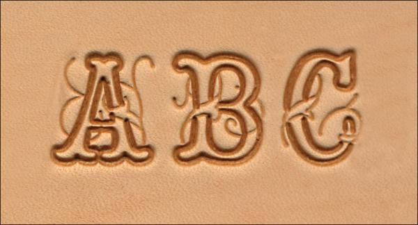 "Craftool 3/4"" (19 mm) Script Alphabet Set - Maine-Line Leather"