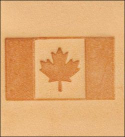 Craftool 3-D Stamp Canadian Flag
