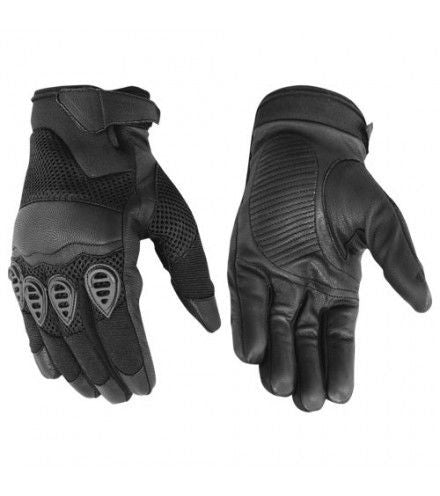 Men's Leather/ Textile Glove - Maine-Line Leather