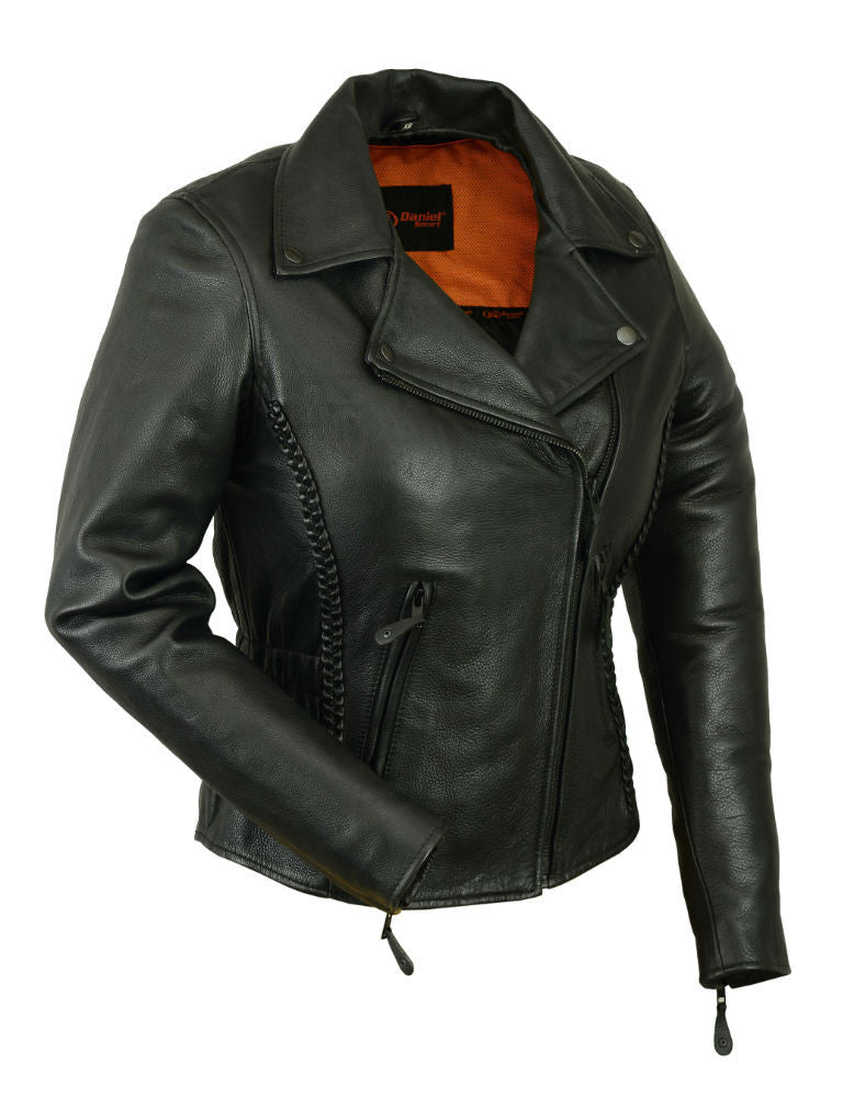 Women's Updated M/C Jacket - Maine-Line Leather - 1