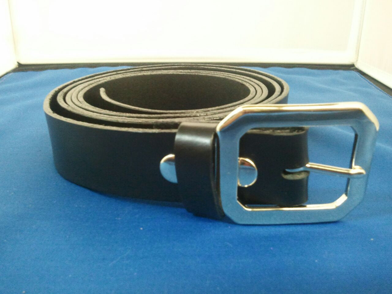 Dress Belt Buckle Style 1 - Maine-Line Leather - 2