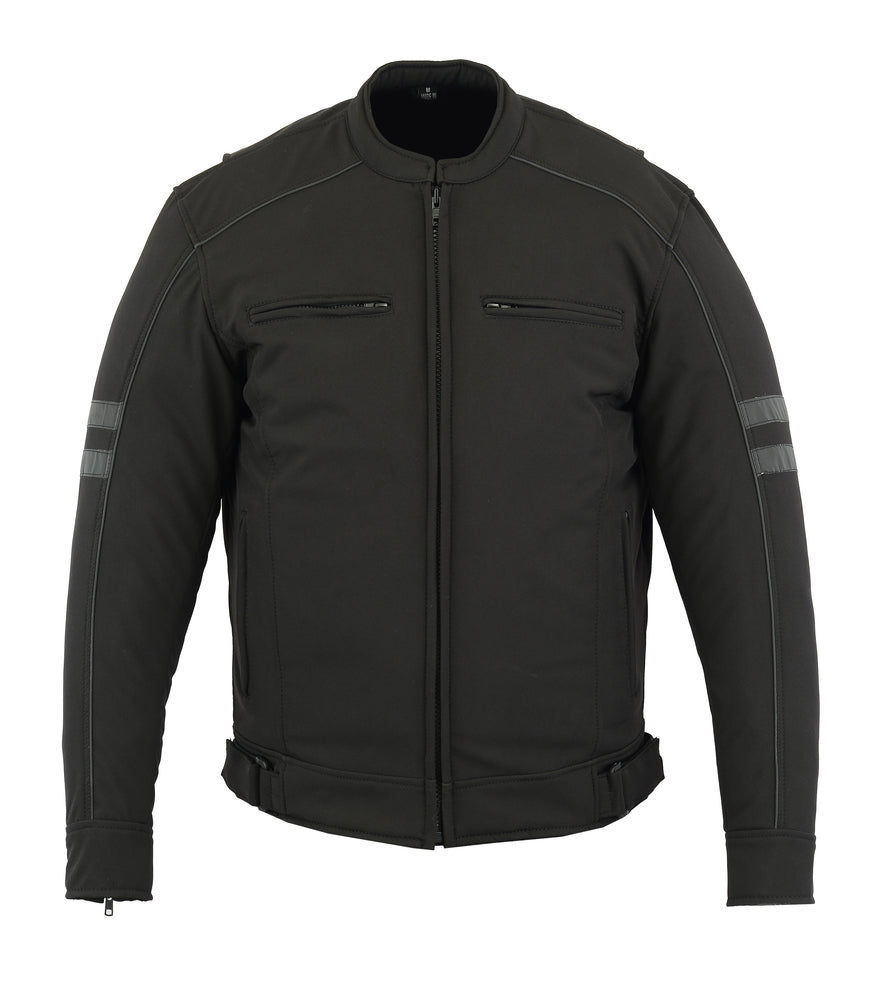 All Season Reflective Men's Textile Jacket