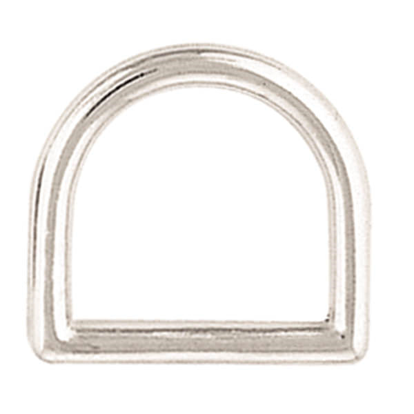 Nickel Plated D Ring