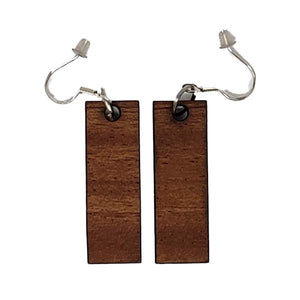 Rectangle Bar Dangle Earrings