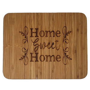 Home Sweet Home Bamboo Cutting Board