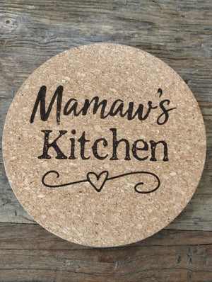 Personalized Kitchen Trivet