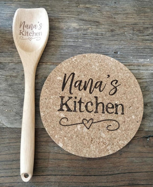 Create Your Own Kitchen Spoon + Trivet Design!