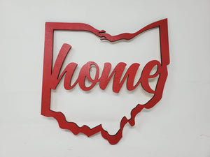 Ohio Home Laser Cut-Out